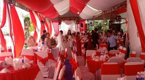 Nhận đặt tiệc cưới tại nhà Thủ Dầu Một Bình Dương