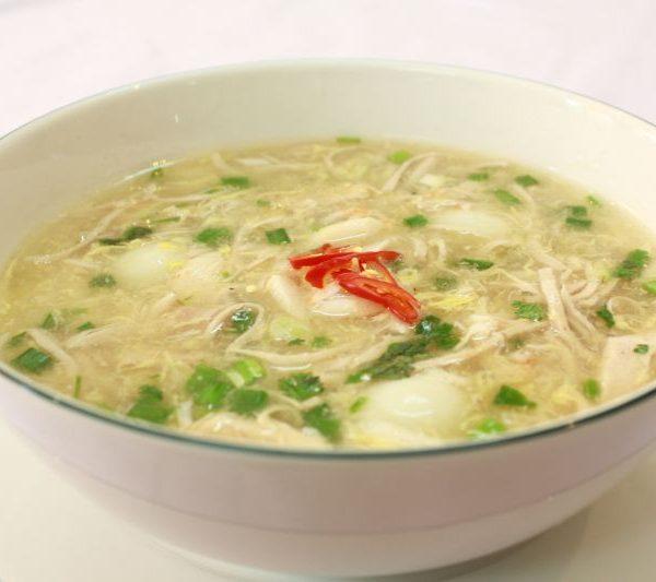 Soup hải sản hột gà